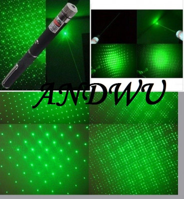 laser  verde 2000 mW GREEN LASER POINTER 2 IN 1 cap 3D foto