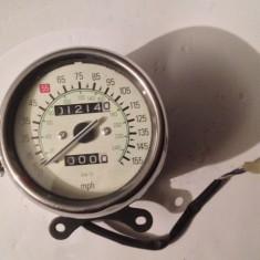 Vitezometru Rotund Crom Chopper Custom - Ceas moto