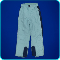 Pantaloni salopeta ski / iarna, impermeabili, ALIVE _ baieti | 13 - 14 ani | 164 - Echipament ski