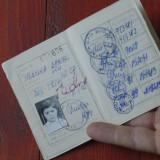 Caile ferate romane CFR - carte de identitate / anii 90 !!!