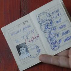 Caile ferate romane CFR - carte de identitate / anii 90 !!! - Pasaport/Document