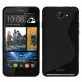 Husa HTC Desire 316 516 TPU S-LINE Black, Negru, Gel TPU, Carcasa