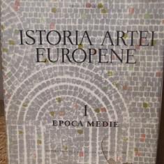 ISTORIA ARTEI EUROPENE- VIRGIL VATASIANU .EPOCA MEDIE - Carte Istoria artei