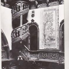 Bnk cp Sinaia - Muzeul Peles - Holul de onoare - necirculata, Printata