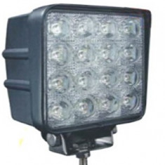 Proiector LED 348 FLOOD 60°, 48W, 12/24V. - Proiectoare tuning, Universal