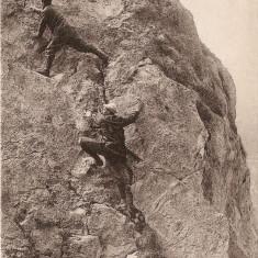 WW1 ALPINISTI LA SALEVE, Franta, Circulata, Printata