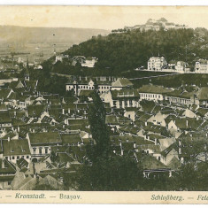 2803 - BRASOV - old postcard, CENSOR - used - 1916 - Carte Postala Transilvania 1904-1918, Circulata, Printata