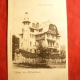Ilustrata tip UPU clasica - Calimanesti -Vila Cantacuzino