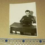 Fotografie veche - militar - masina de scris 1944 - 2+1 gratis - RBK10961