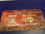 Bilet      Rapid  -   Petrolul