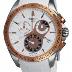 Ceas Barbatesc Tissot Velocy-T Gold, Lux - sport, Quartz, Inox, Cauciuc, Cronograf
