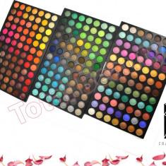 Trusa machiaj profesionala 252 culori Fraulein Germania paleta farduri colorate - Trusa make up