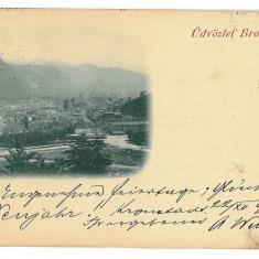 1681 - L i t h o, BRASOV - old postcard - used - 1899 - Carte Postala Transilvania pana la 1904, Circulata, Printata