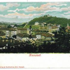 1128 - L i t h o, BRASOV - old postcard - unused - Carte Postala Transilvania pana la 1904, Necirculata, Printata