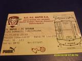 Bilet      Rapid  -  Steaua   cupa rom.