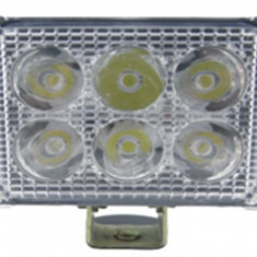 Proiector LED 318 FLOOD 60°, 18W. 12/24V - Proiectoare tuning, Universal