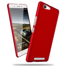 HUSA plastic cauciucat ALLVIEW P8 ENERGY bonus FOLIE PROTECTIE - Husa Telefon Allview, Rosu