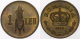 monedă 1 leu 1938
