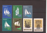 Poland - lot timbre, Transporturi, Europa