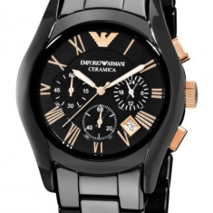 Ceas barbatesc Emporio Armani Ceramic AR1410 Gold, Fashion, Quartz
