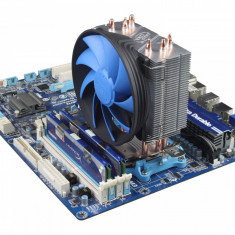 Racire silent Cooler Tower Deepcool Heatpipes Intel Lga 1155 1156 1150 1151 - Cooler PC Deepcool, Pentru procesoare