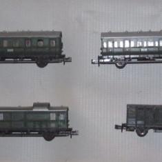 Lot vagoane calatori, Trix - scara N - Macheta Feroviara Trix, N
