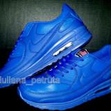 Adidasi nike air max albastru impermeabil 90 hyperfuse nr. 41, 43, 44 - Adidasi barbati Nike, Piele sintetica