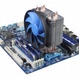 Racire silent Cooler Tower Deepcool Heatpipes Amd FM1 FM2 Fm2+ AM3 AM3+ Am2 Am2+