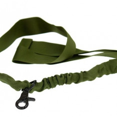 Curea tactica 1 punct Bungee Olive - Echipament Airsoft