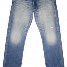 (BATAL) PRPS - Made in Japan - (MARIME: 38) - Talie = 104 CM, Lungime = 116 CM - Blugi barbati, Culoare: Din imagine, Prespalat, Drepti, Normal