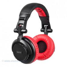 CASTI DJ KRUGER&MATZ, Casti On Ear, Cu fir, Mufa 3, 5mm, Active Noise Cancelling
