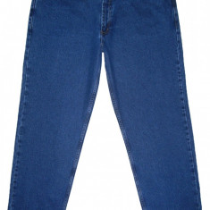 (BATAL) Blugi model clasic - (MARIME: 54) - Talie = 107 CM, Lungime = 115 CM - Blugi barbati, Marime: 44, Culoare: Albastru, Prespalat, Drepti