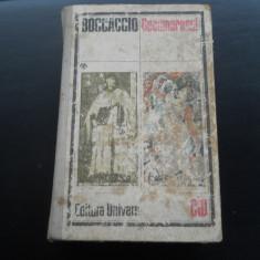 DECAMERONUL - BOCCACCIO - Carte in italiana