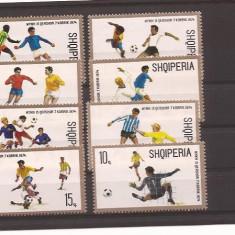 Albania - football 1974 Mondial - Timbre straine, Sport, Nestampilat