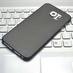 Husa Samsung Galaxy S6 G920F Ultra Slim 0.3mm Mata Black, Negru, Plastic