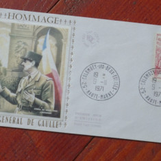 Plic - Hommage au General de Gaulle - Franta 1971 !!!, Dupa 1950