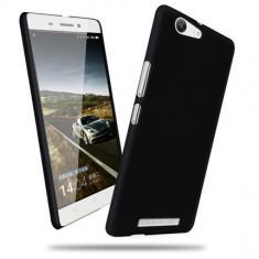 HUSA plastic cauciucat ALLVIEW P8 ENERGY bonus FOLIE PROTECTIE - Husa Telefon Allview, Negru