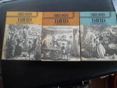 DAVID COPPERFIELD  -  CHARLES DICKENS  3 VOL foto
