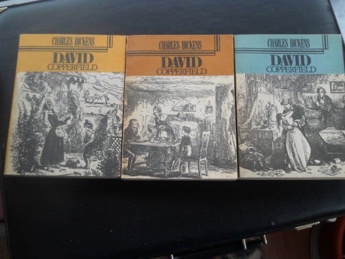 DAVID COPPERFIELD  -  CHARLES DICKENS  3 VOL