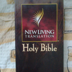 D6 Holy Bible - New Living Translation (citeste descrierea si vezi foto)!!! - Biblia