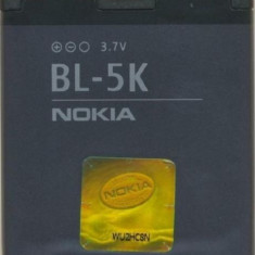 Baterie Nokia BL-5K C7 N85 N86 8MP Oro X7 C7-001 701 Originala Swap, Li-ion