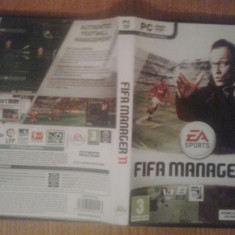 FIFA Manager 11 - Joc PC (GameLand) - Jocuri PC Electronic Arts, Sporturi, 3+, Single player