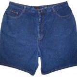 (BATAL) Pantaloni scurti blugi ROUTE 66 - (MARIME: 26W) - Talie = 112 CM - Blugi dama, Marime: XXL, Culoare: Albastru, Normala