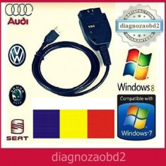 Interfata diagnoza tester VAG.COM 14.10 lb. ROMANA - Audi Skoda Seat WV - 2015 !