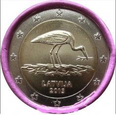 LETONIA 2 euro comemorativ 2015 - BARZA, UNC foto