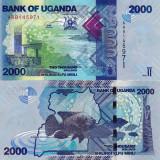 UGANDA 2.000 shillings 2010 UNC!!!