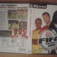 FIFA 2003 - Joc PC ( GameLand ) - Jocuri PC Electronic Arts, Sporturi, 3+, Single player