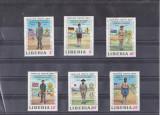 TS - TIMBRE LIBERIA - CM1, Stampilat