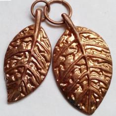 Pandantiv Frunze placate cu aur - Pandantiv placate cu aur