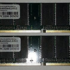 GOODRAM KIT 2 x 512MB DDR400 - Memorie RAM Goodram, 1 GB, 400 mhz, Dual channel